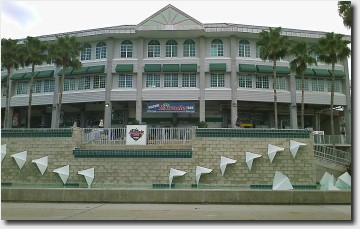 Ed Smith Stadium in Sarasota, FL - Home of the Baltimore Orioles