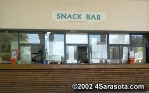 Siesta Beach Concession Stand
